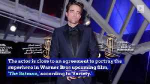 Robert Pattinson Reportedly Cast as Next 'Batman' and Fans Are Upset [Video]