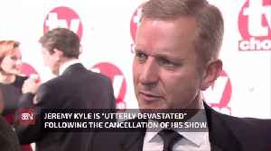 Jeremy Kyle Responds To His Show Cancellation [Video]