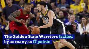 Warriors Rally to Take 2-0 Series Lead Over Blazers [Video]