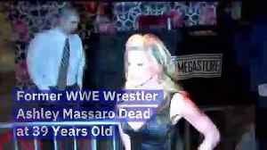 Former WWE Wrestler Ashley Massaro Dead at 39 Years Old [Video]