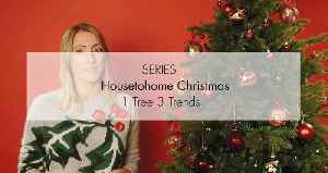 Ideal Home's Christmas: 1 Tree 3 Trends [Video]