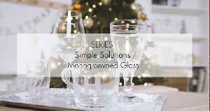 Simple Solutions: Monogrammed glass for Christmas [Video]