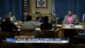 Fire and Police Commission makes changes to city's pursuit policy [Video]