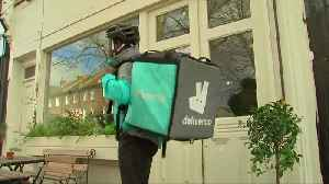 News video: Amazon takes on Uber Eats with Deliveroo deal