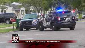 UPDATE: Man hospitalized in shooting in Lansing [Video]