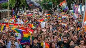 Taiwan Votes To Legalize Same-Sex Marriage [Video]