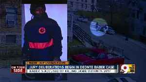 Jury deliberations begin in Deonte Baber trial [Video]