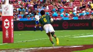 Singapore 7s Review | Blitzboks complete extraordinary comeback [Video]