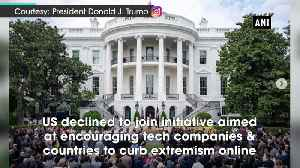 News video: United States declines to join New Zealand-led initiative to curb extremism online