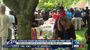 Catholic Charities celebrates first year [Video]