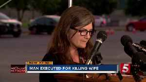 Donnie Johnson executed for killing his wife [Video]