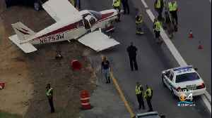Out Of Gas, Small Plane Forced To Land During Rush Hour On Florida Highway [Video]