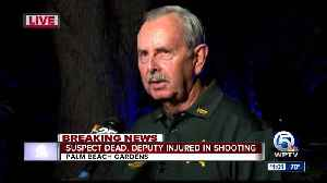 Sheriff Rick Bradshaw presser on deputy-involved shooting [Video]