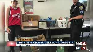 Cape Coral teen holding food drive for her birthday [Video]