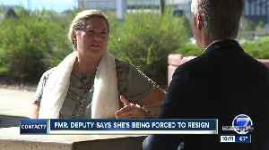 Injured Arapahoe County deputy says she's being forced to resign [Video]