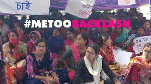 India's #MeToo movement is facing backlash [Video]