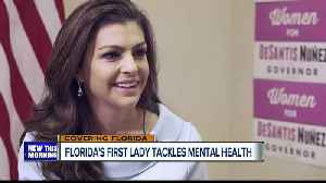 Florida First Lady Casey DeSantis takes on mental health issues [Video]
