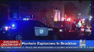 Manhole Explosions Knock Out Power In Downtown Brockton [Video]