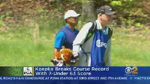 News video: Brooks Koepka Leads PGA Championship Heading Into Round 2