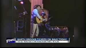 Garth Brooks tickets go on sale today [Video]