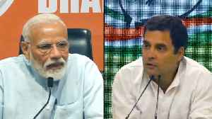 News video: 'Unprecedented,' Rahul Gandhi mocks PM Modi's first presser, poses a question