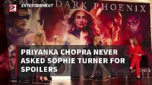 Priyanka Chopra never asked Sophie Turner for spoilers [Video]