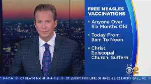 Rockland Offering Free Measles Vaccines Today [Video]