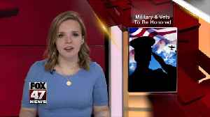 News video: Inaugural Michigan Military and Veterans Hall of Honor to recognize 12 inductees