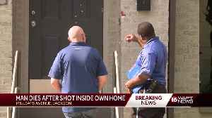 Man shot to death in his home [Video]