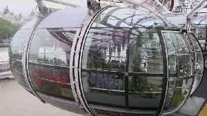 London Eye capsule filled with flowers ahead of Royal Chelsea Flower Show [Video]