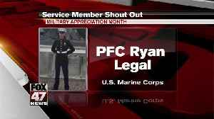 Yes Squad Service Member Shout Out: Ryan Legal [Video]