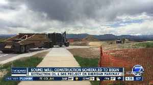 New sound wall being installed at drilling site in Broomfield [Video]