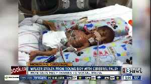 Walker Stolen From Young Boy with cerebral palsy [Video]