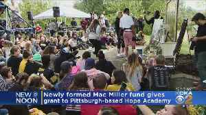 Mac Miller Fund Hands Out Inaugural Grants [Video]