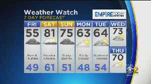 CBS 2 Weather Watch (11AM, May 17, 2019) [Video]