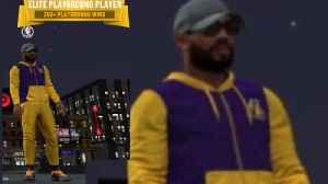 Kyrie Irving CAUGHT Playing 2K In FULL Laker Gear [Video]