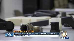 Marine Corps utilizing 3D printing technology to enhance operational readiness [Video]