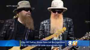 City Of Dallas Gives Special Recognition To ZZ Top Ahead Of 50th Anniversary Tour [Video]