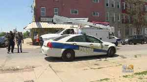 Police Investigating After Officer Hit By Car In Baltimore [Video]