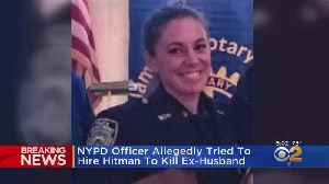 News video: NYPD Officer Accused Of Murder-For-Hire Plot
