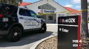 News video: Bank robbery at BankOZK in Cape Coral