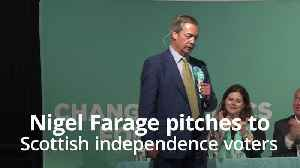 Farage tells SNP supporters: Lend me your votes for the European Elections [Video]