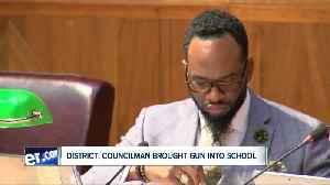 Buffalo Common Council Member Ulysees Wingo investigated for bringing gun into Buffalo school [Video]