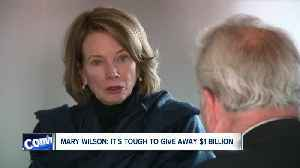 Mary Wilson says it tough trying to give away $1 Billion [Video]