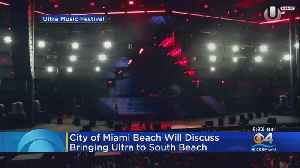 Ultra Could Be Coming To Miami Beach [Video]