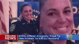 News video: NYPD Officer Arrested In Murder-For-Hire Plot