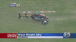 NBC10 Chopper Makes Emergency Landing In West Mount Airy [Video]