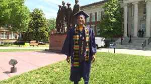 North Carolina College Graduate`s Dance of Praise During Ceremony Goes Viral [Video]