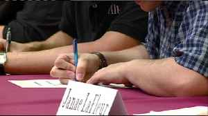 Local students sign career letters of intent [Video]