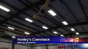 Manning Gymnast Competes In Major USA Event [Video]